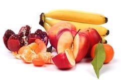 Ainda vida de frutas frescas Foto de Stock
