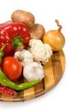 Ainda vida de legumes frescos Imagens de Stock Royalty Free