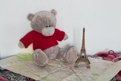 Ainda-vida de Teddy Bear Imagem de Stock Royalty Free