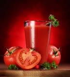 Ainda-vida de tomates frescos. Foto de Stock