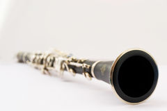 Ainda vida de um clarinete Foto de Stock Royalty Free