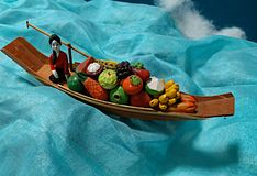 Ainda vida do barco foto de stock