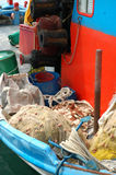 Ainda vida do barco de pesca Imagem de Stock Royalty Free