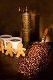 Ainda-vida do café Fotos de Stock Royalty Free