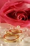 Ainda-vida do casamento Foto de Stock Royalty Free