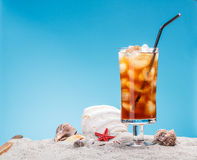 Ainda vida do chá de gelo Imagens de Stock