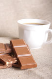 Ainda-vida do chocolate Imagens de Stock Royalty Free