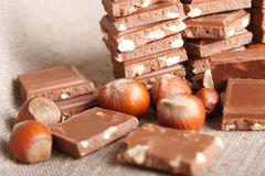 Ainda-vida do chocolate Fotos de Stock Royalty Free
