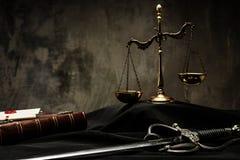 Ainda-vida do envoltório do juiz Foto de Stock