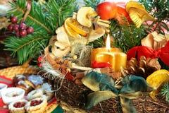 Ainda-vida do Natal   Foto de Stock Royalty Free