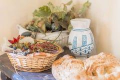 Ainda vida do pão Fotos de Stock Royalty Free