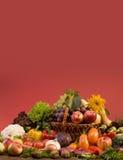 Ainda-vida do vegetal e do alimento das frutas Fotografia de Stock