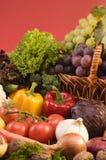 Ainda-vida do vegetal e do alimento das frutas Fotografia de Stock Royalty Free