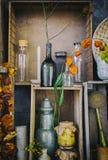 Ainda vida dos objetos da cozinha Foto de Stock