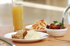Ainda-vida dos pratos Fotografia de Stock Royalty Free