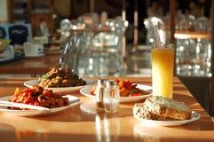 Ainda-vida dos pratos Foto de Stock Royalty Free