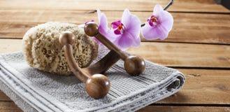 Ainda-vida dos termas com sentimento do zen Foto de Stock Royalty Free