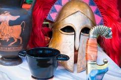 Ainda-vida espartano Imagens de Stock Royalty Free