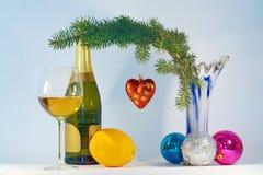 Ainda vida festiva para o Natal Fotos de Stock Royalty Free
