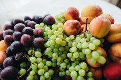 Ainda vida 1 Frutas Foto de Stock