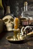 Ainda vida gótico Fotografia de Stock Royalty Free