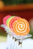 Ainda vida: geleia de fruto em vidros Imagens de Stock Royalty Free