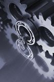 Ainda-vida mecânica azulada Imagens de Stock Royalty Free