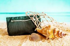 Ainda vida náutica tropical bonita Imagem de Stock Royalty Free