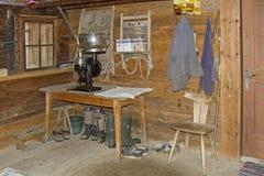 Ainda vida na cabana alpina Foto de Stock Royalty Free