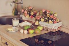 Ainda vida na cozinha Fotografia de Stock Royalty Free