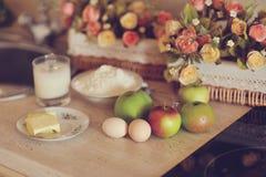 Ainda vida na cozinha Fotos de Stock Royalty Free