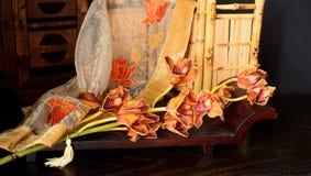 Ainda vida no estilo oriental Imagens de Stock Royalty Free