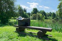 Ainda vida no lago Imagem de Stock