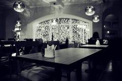 Ainda vida no restaurante Fotos de Stock