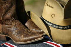 Ainda vida ocidental na cor Fotografia de Stock Royalty Free