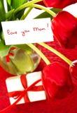 Ainda vida para o dia de mães Imagem de Stock Royalty Free