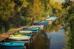 Ainda vida perto do lago Balaton Fotos de Stock