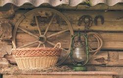 Ainda vida retro rural Fotos de Stock