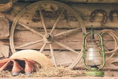 Ainda vida retro rural Foto de Stock
