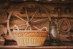 Ainda vida retro rural Fotos de Stock Royalty Free