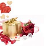 Ainda vida romântica Fotos de Stock Royalty Free