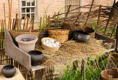 Ainda vida rural Fotos de Stock Royalty Free