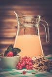 Ainda-vida saudável do café da manhã Fotografia de Stock Royalty Free