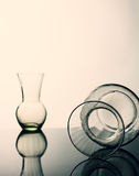 Ainda vidro da vida. Foto de Stock