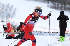 Aino-Kaisa Saarinen - ski sprint Stock Image