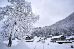 Ainokura village Royalty Free Stock Images