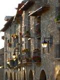 Ainsa, Huesca (Espanha) Fotografia de Stock