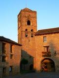 Ainsa, Huesca (Spain) Fotografia de Stock
