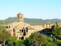 Ainsa, Huesca (Spanien) Lizenzfreie Stockfotos