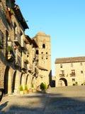 Ainsa, Huesca (Spanje) Royalty-vrije Stock Afbeelding